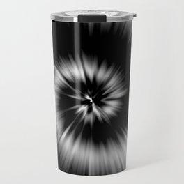 TIE DYE #1 (Black & White) Travel Mug