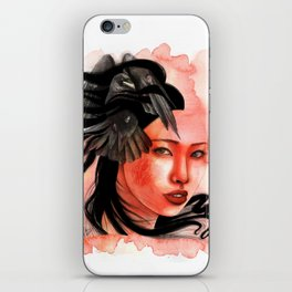 Awaken the witch in you. iPhone Skin