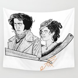 The Demon Barber Wall Tapestry
