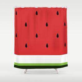 Fresh Water Melon Shower Curtain