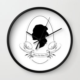 Buns Out Guns Out - Rey Wall Clock