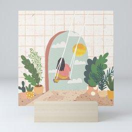 The Future is Bright Mini Art Print