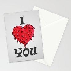 I LOVE YOU // VALENTINE GIFT Stationery Cards