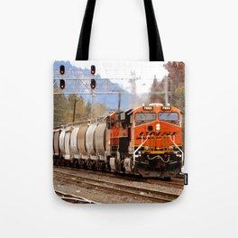 TRAIN YARD Tote Bag