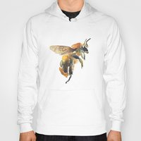bee Hoodies featuring Bee by coconuttowers