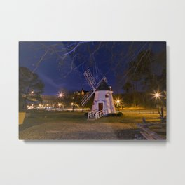Yorktown Windmill at Night Metal Print