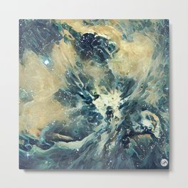ALTERED Sharpest View of Orion Nebula Metal Print