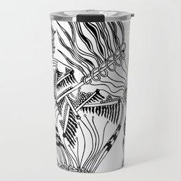 Pipes Abstract Travel Mug