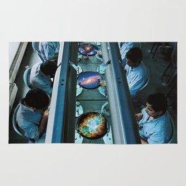 Galaxy factory Rug