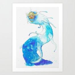 God River, second version Art Print
