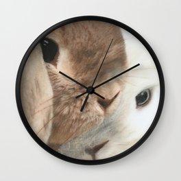 SomeBunny Loves you! Wall Clock