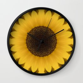 Beautiful Sunflower Wall Clock