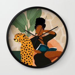 Stay Home No. 1 Wall Clock