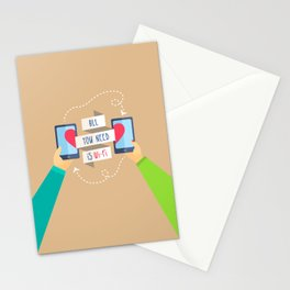 All you need is...) Stationery Cards