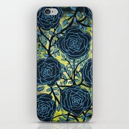 Black and Blue iPhone Skin