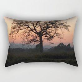 Safari Sunrise in Africa Rectangular Pillow