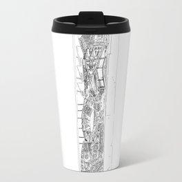 The tower of Falsity Travel Mug