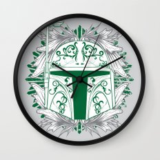 Boba Tatt Wall Clock