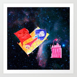 Τhe Universe is our Ηome | Kids Room up to the Space | Cosmos Art Print
