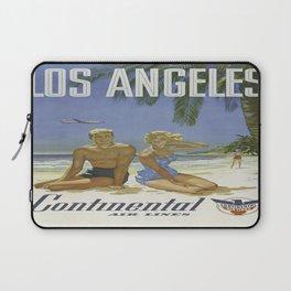 Vintage poster - Los Angeles Laptop Sleeve
