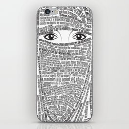 Unveiled iPhone Skin