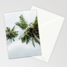 Palm trees in Paradise Stationery Cards
