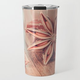 Anise, milk chocolate and coffee beans Travel Mug