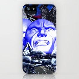 Maske des Bösen iPhone Case