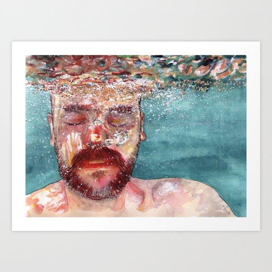 Watercolour Art Print