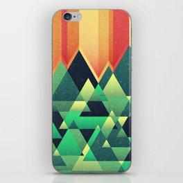 Summer Mountains iPhone Skin