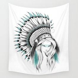Indian Headdress Wall Tapestry