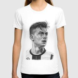 Paulo Dybala Pencil Drawing T Shirt