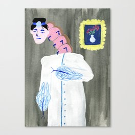 Turn Your Head And Kafka Canvas Print