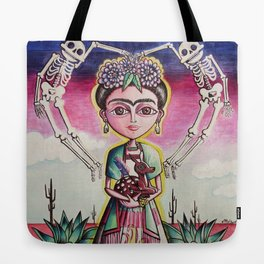 """Frida K."" Tote Bag"