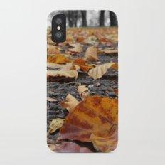 Autumn paths iPhone X Slim Case