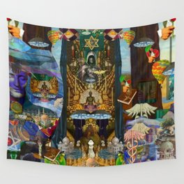 The Golden Cage Wall Tapestry