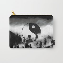 Yin Yang Forest Carry-All Pouch