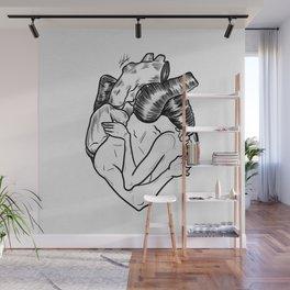 One heart. Wall Mural