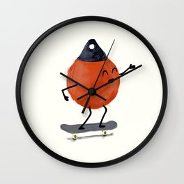 Skater Buoy Wall Clock