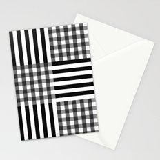 monochrome pattern  Stationery Cards