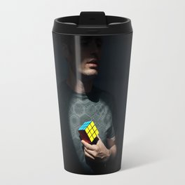 The distinguished gentleman with a cube heart Travel Mug