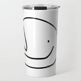 Kiddo Heart Face Happy Travel Mug