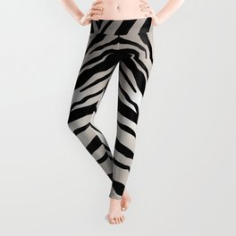 Animal Print, Zebra Leggings