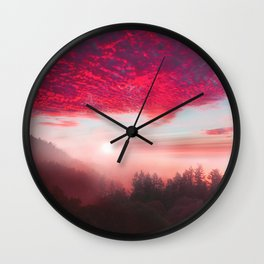 Pastel vibes 28 Wall Clock