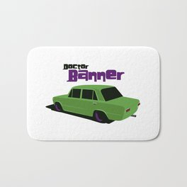 Doctor Banner Bath Mat