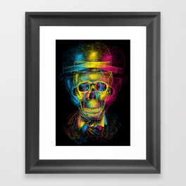 Worked to Death Framed Art Print