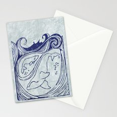 Whales & Waves Stationery Cards
