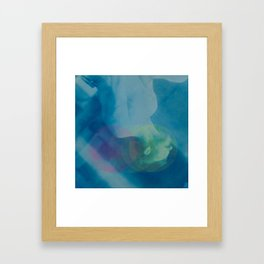 Sudden Lightness Framed Art Print