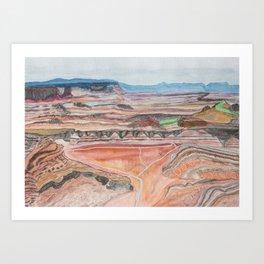 Canyonlands Art Print