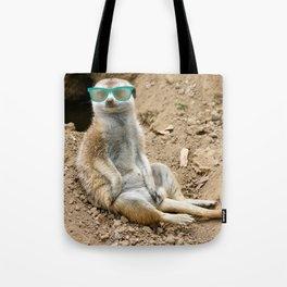 Sunny Meerkat Tote Bag
